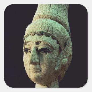 Ugarit (アイボリー)の王子またはプリンセスの頭部(se スクエアシール