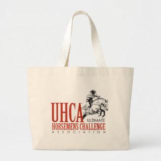 UHCAのキャンバスのバッグ ラージトートバッグ
