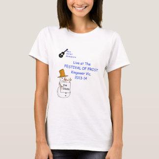 Ukeのフロストの女性ティーの共同ジャンパーのフェスティバル Tシャツ