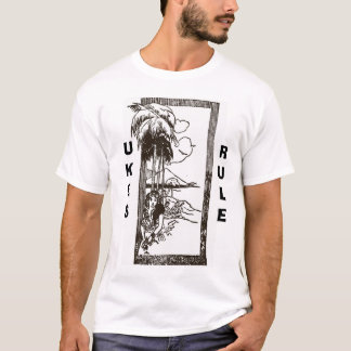 Ukeの女性- Ukesの規則 Tシャツ
