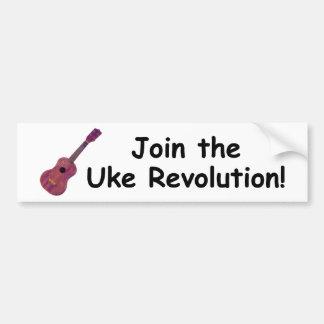 Ukeの改革を結合して下さい! バンパーステッカー