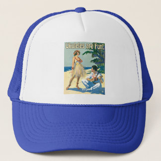 Ukesはおもしろいです! 帽子