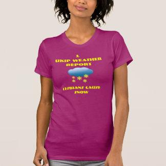 Ukipの天候 Tシャツ