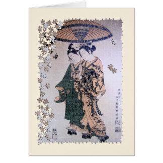 Ukiyo Kabukiのジグソーパズル カード
