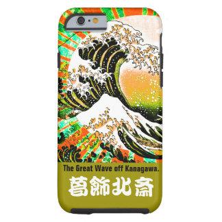 UKIYOE-Hokusai (Japanese artist) No.4 iPhone 6 タフケース