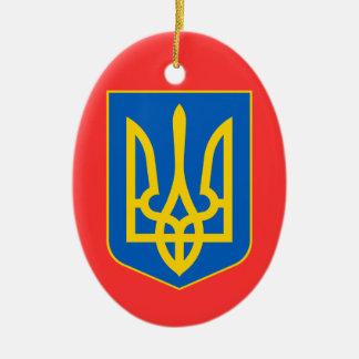 UKRAINE*のカスタムなクリスマスのオーナメント セラミックオーナメント
