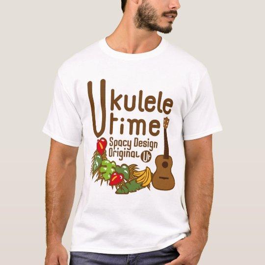 ukulele time tシャツ