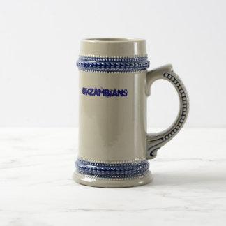UKZAMBIANS ビールジョッキ