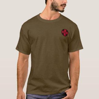 Ullrのスキー製材所のスキーパトロールのロゴのワイシャツ Tシャツ