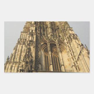 Ulmの教会 長方形シール