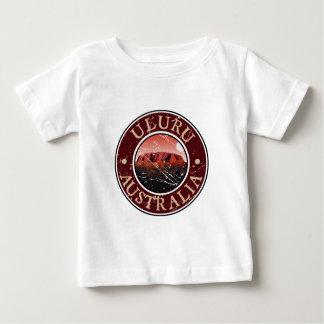 Uluru -オーストラリア ベビーTシャツ