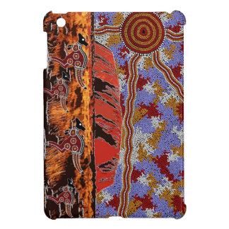 Uluru -確実な原生の芸術 iPad miniケース