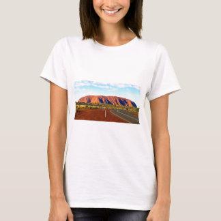 Uluru/Ayersロックのオーストラリア Tシャツ
