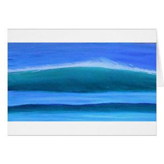 Uluwatuの波 グリーティングカード