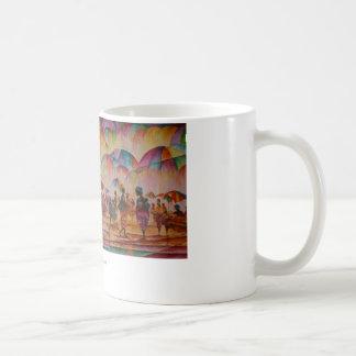 Umberellaの市場-マグ コーヒーマグカップ