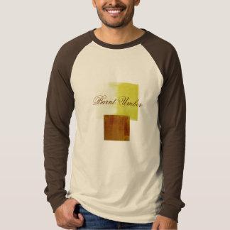 umbersquares、燃やされたアンバー tシャツ