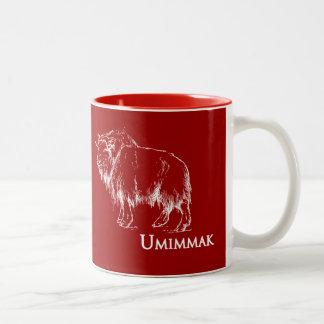 Umimmak (ジャコウウシ) ツートーンマグカップ