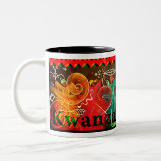 Umoja! - Kwanzaa ツートーンマグカップ