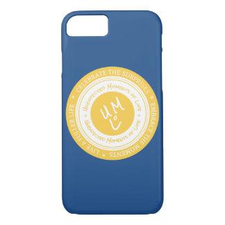 UMOLのロゴのシールのiPhone 7の電話箱 iPhone 8/7ケース