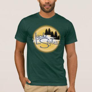 UMOL LypheStylesのロゴのマツ森林メンズTシャツ Tシャツ