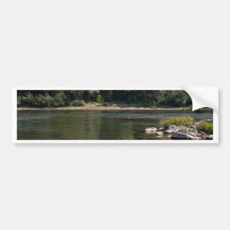 Umpquaの川、オレゴン バンパーステッカー