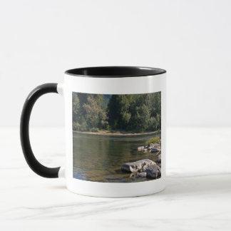 Umpquaの川、オレゴン マグカップ