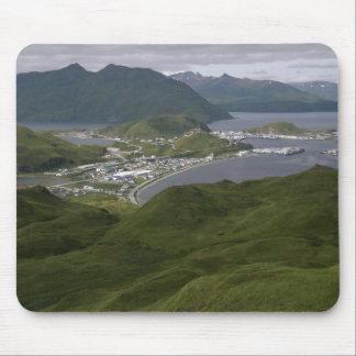 Unalaska、アラスカ市 マウスパッド