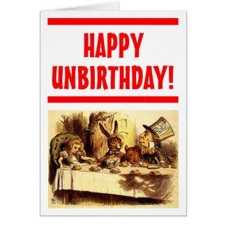 Unbirthday幸せなカード カード
