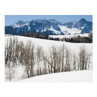 Uncompahgreの谷の11月 ポストカード