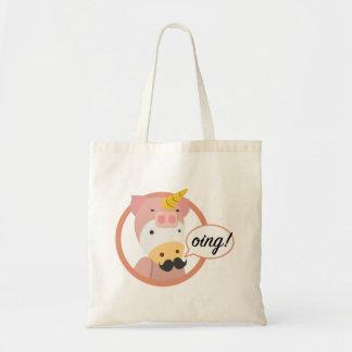 Unicorn Bag教授 トートバッグ