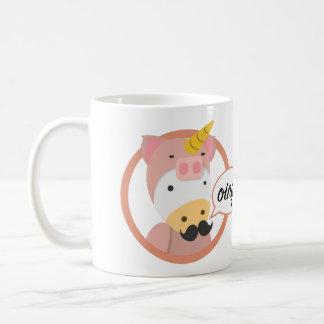 Unicorn Classic White Mug教授 コーヒーマグカップ