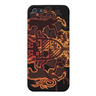 Unicorn_Emblem iPhone 5 Case