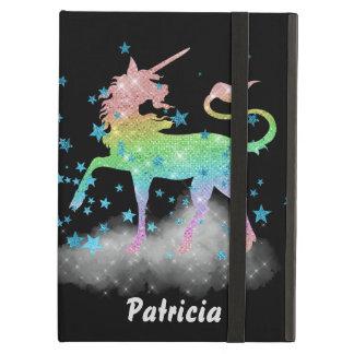 Unicorn in the stars customizable iPad airケース