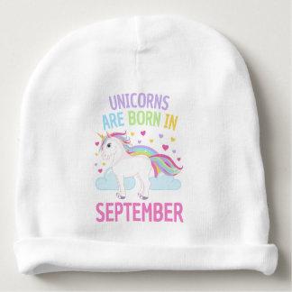 Unicorns are Born in September Cute Unicorn ベビービーニー