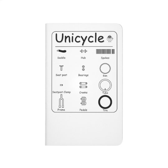 Unicycle ポケットジャーナル
