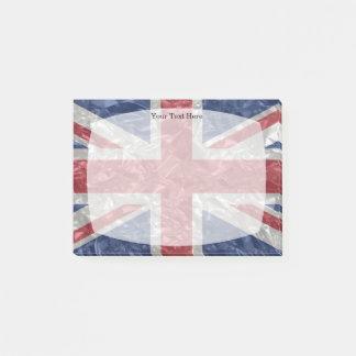 Union Jack Flag - Crinkled ポストイット