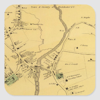 Unionport、Westchester、Schuylerville スクエアシール