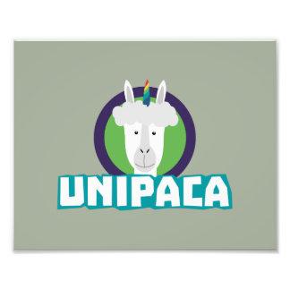 UnipacaのユニコーンのアルパカZ67aj フォトプリント
