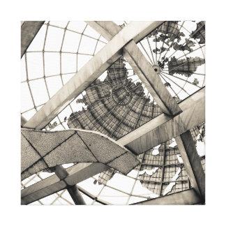 Unisphere -ニューヨーク女王の下 キャンバスプリント