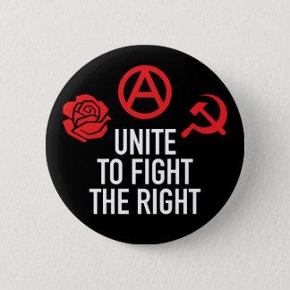 Unite to Fight the Right Button 缶バッジ