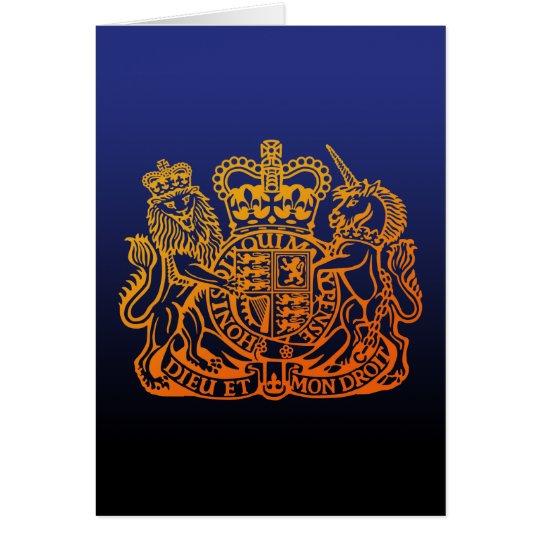 United Kingdom Seal カード
