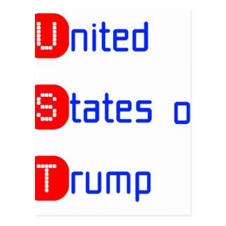 united states of Trump ポストカード