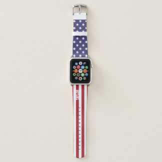 United States Stars And Stripes Personalized Apple Watchバンド