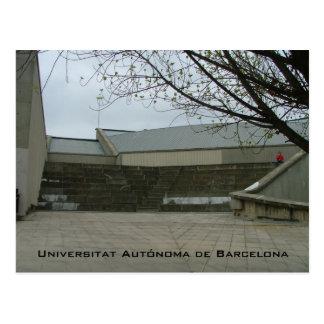 Universitat Autónoma deバルセロナ ポストカード