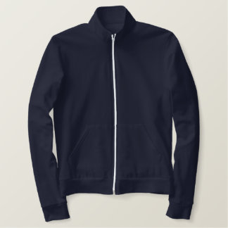 Universiteitsのスポーツジャック 刺繍入りジャケット