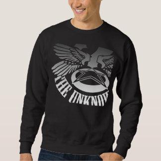 Unknownnの黒いセーター スウェットシャツ