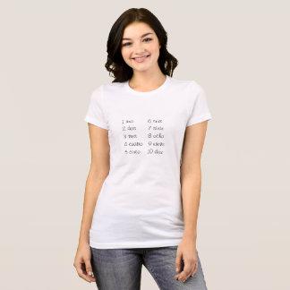 uno dosのtres! tシャツ