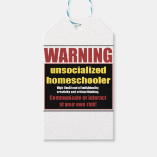 unsocialized homeschoolers ギフトタグ