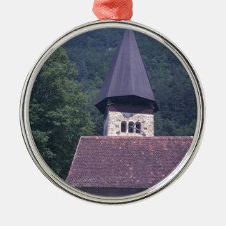 Unterseenの教区の教会、インターラーケン メタルオーナメント