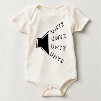 UNTZのスピーカー ベビーボディスーツ